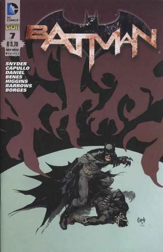 Batman 2012 - N° 7 - Batman - Rw Lion