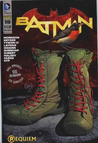 Batman 2012 - N° 19 - Batman - Batman Rw Lion