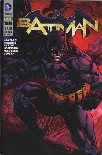 Batman 2012 - N° 20 - Batman - Batman Rw Lion