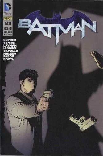 Batman 2012 - N° 21 - Batman - Batman Rw Lion