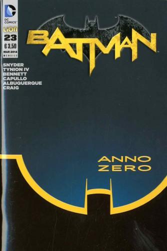 Batman 2012 - N° 23 - Batman - Batman Rw Lion