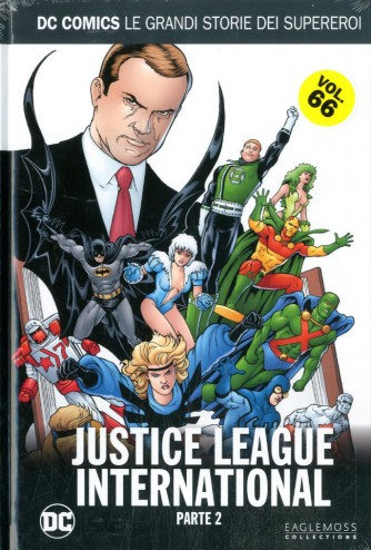 Dc Comics Le Grandi Storie... - N° 66 - Justice League International 2 - Rw Lion