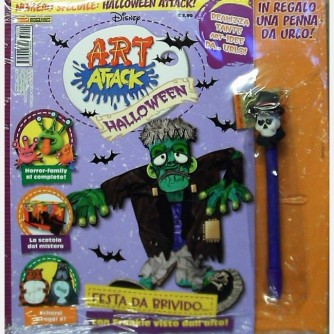 Disney Art Attack - Halloween