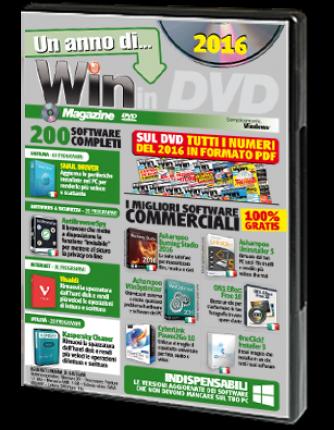 Un anno di Win Magazine in DVD 2016 N° 1