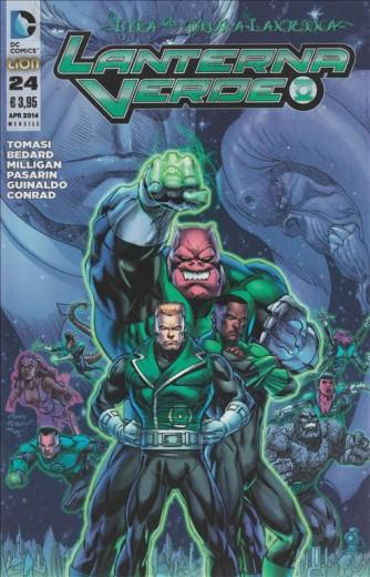 dc comics - lanterna verde - numero 24 - l'ira della prima lanterna