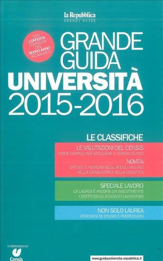 GRANDE GUIDA UNIVERSITA' 2015-2016 - ediz. La Repubblica