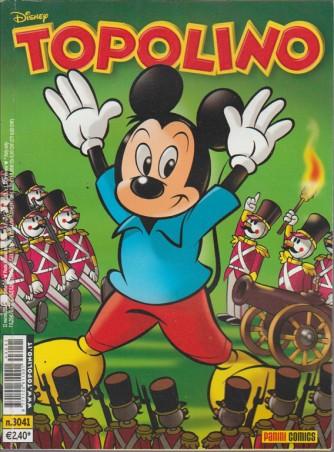 Topolino  - panini comics - numero 3041 - disney