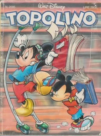 Topolino - n.2095 - disney - panini comics