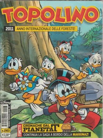 Topolino - 2011 anno internazionale delle foreste! - n.3096 - panini comics