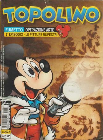 TOPOLINO - NUMERO 2922 - DISNEY - PANINI COMICS