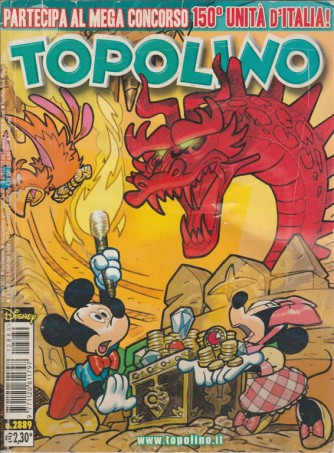 TOPOLINO - NUMERO 2889 - DISNEY - PANINI COMICS