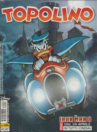 TOPOLINO - NUMERO 2996 - DISNEY - PANINI COMICS