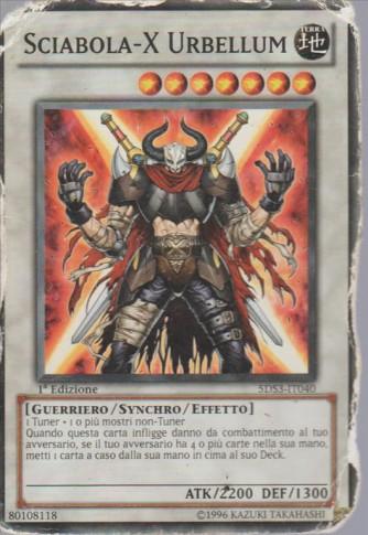 Sciabola-X Urbellum comune 1a Edizione - Yu-Gi-Oh! Attrezzi del Duellante