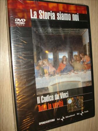 LA STORIA SIAMO NOI n.12 - IL CODICE DA VINCI - TUTTA LA VERITA' - DVD