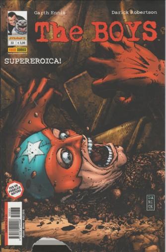 THE BOYS - SUPEREROICA! - PER UN PUBBLICO MATURO - NUMERO 33 - PANINI COMICS