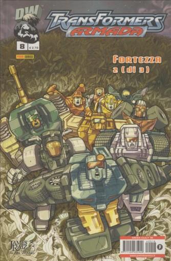 TRANSFORMERS ARMADA - N. 8 - FORTEZZA 2 (DI 3) - PANINI COMICS - MEGA CULT 18