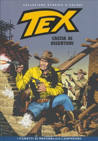 Tex Collezione Storica a colori - Caccia Ai Disertori - I fumetti di Repubblica