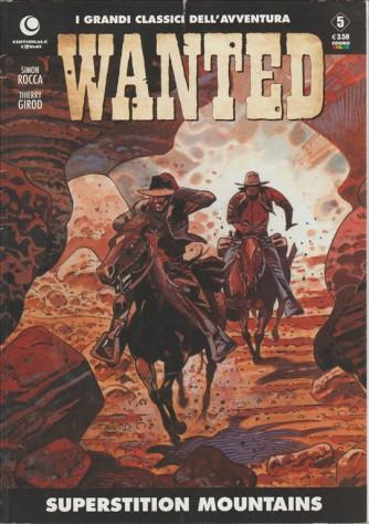 Cosmo serie Color - I Grandi classici dell'avventura - Wanted Superstition Mountains