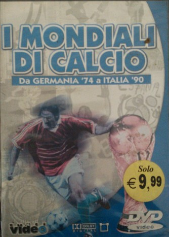 I Mondiali di calcio Da Germania '74 a Italia '90 - DVD Documentario