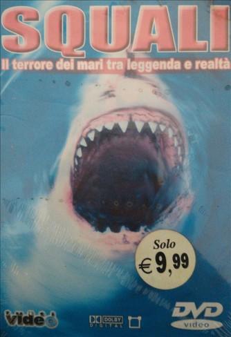 SQUALI - Il terrore dei mari tra leggenda e realtà - DVD Documentario