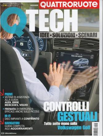 """Quattroruote Dossier - trimestrale n. 58 Maggio 2017 """"TECH """""""