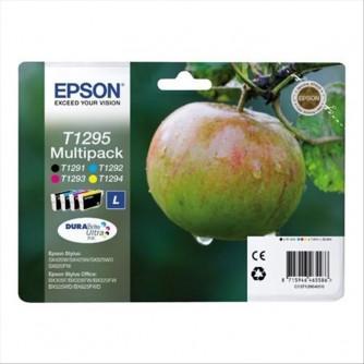 EPSON EPSON MUTIPACK 4 COLORI T1295 - T1291 T1292 T1293 T1294 - C13T12954010