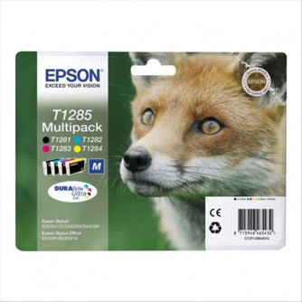 EPSON EPSON MUTIPACK 4 COLORI T1285 - T1284 T1283 T1282 T1281 - C13T12854010