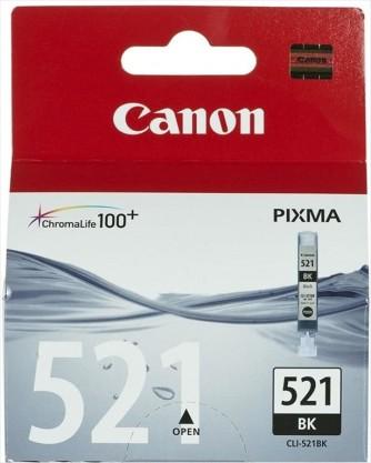 Cartuccia nero Canon CLI-521BK - PIXMA MP540, MP620, MP630, MP980, iP3600, iP4600, MX860