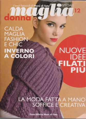 Specaile maglia donna - n. 12 - I lavori femminili di Mani di Fata
