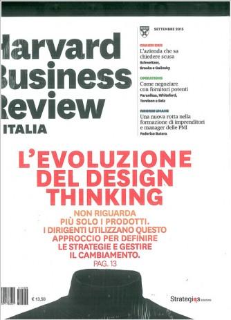 Harward Business Review ITALIA - mensile n.9/2015 settembre