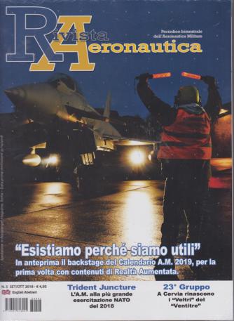 Rivista Aeronautica - n. 5 - bimestrale - settembre/ottobre 2018