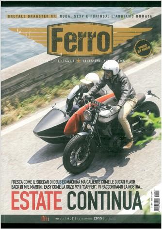 Ferro - Moto Speciali - Uomini speciali - Mensile n.07 Settembre 2015