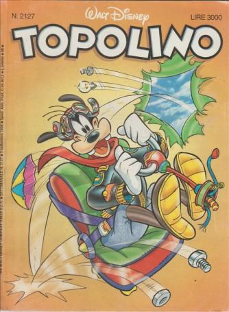 TOPOLINO - WALT DISNEY - NUMERO 2127