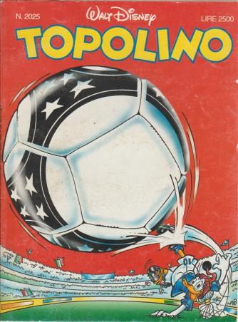 TOPOLINO - WALT DISNEY - NUMERO 2025