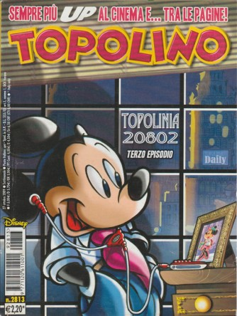 TOPOLINO - WALT DISNEY - NUMERO 2813