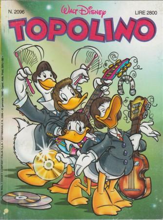 TOPOLINO - WALT DISNEY - NUMERO 2096