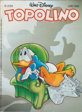 TOPOLINO - WALT DISNEY - NUMERO 2153