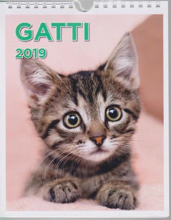 Calendario Romano  - Gatti 2019 - pocket - bimestrale - 6 novembre 2018