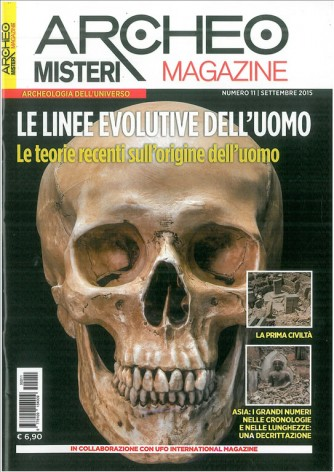 Archeomisteri Magazine - Mensile n.11 Settembre 2015