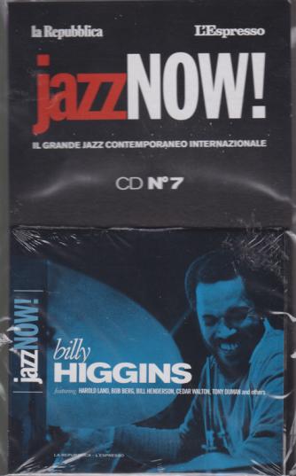 Jazz Now - Billy Higgins - cd n. 7 - 27 novembre 2018 -