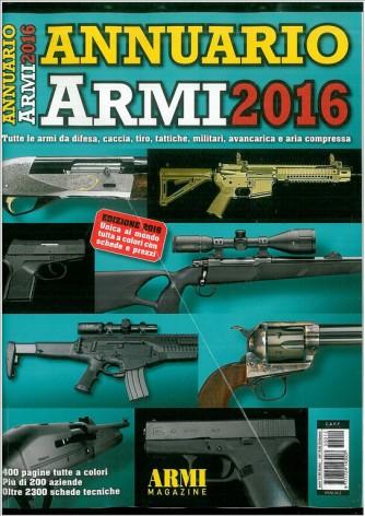 Annuario Armi 2016 - speciale di Armi Magazine