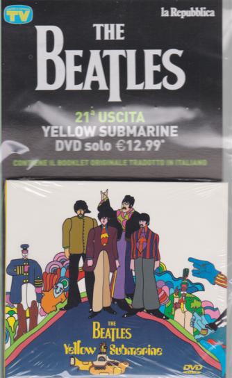 The Beatles - 21 uscita - Yellow submarine - dvd - dicembre 2018 -