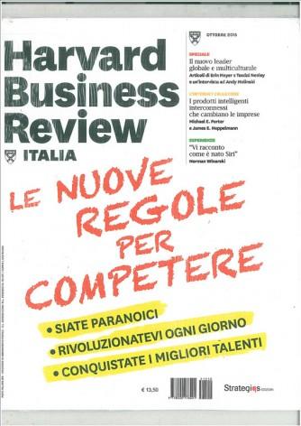 Harward Business Review Italia - mensile Ottobre 2015