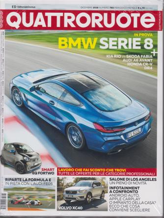 Quattroruote - + Q Auto aziendali - n. 760 - dicembre 2018 - mensile - 2 riviste