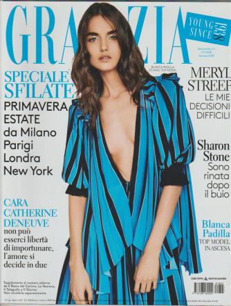 Grazia - settimanale n. 5 - 17 Gennaio 2018 - Blanca Padilla: 23 anni Top Model