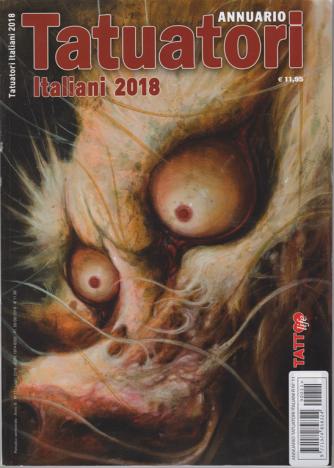 Annuario Tatuatori italiani 2018 - n. 11-