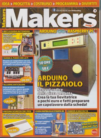 Makers Mag n. 4 - bimestrale - dicembre - gennaio 2019