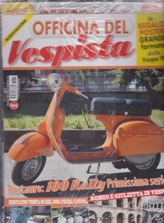 Officina Del Vespista Mega - n. 21 - bimestrale - gennaio - febbraio 2019
