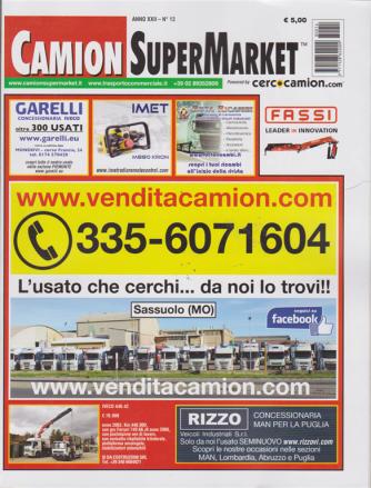 Camion SuperMarket - n. 13 - 21  dicembre 2018