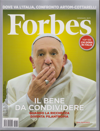 Forbes -n. 15 - gennaio 2019 - mensile